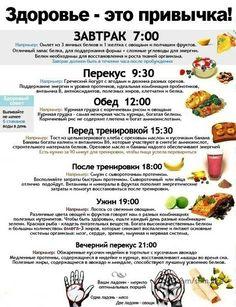 Eating schedule