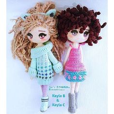 Kayla B and Kayla C are exchanged clothes. Awesome works done by pattern tester @joehapiness . ❣❣❣