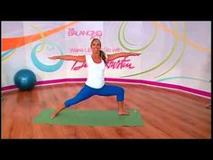 Wake Up and Go with Denise Austin. Video 15 minutes Fat Burning Aerobics and Hot Body Yoga. #Workouts