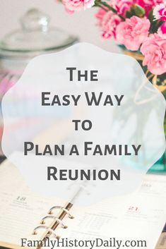 Planning a family reunion? Need ideas for activities, food, games, favors or invitations for your family reunion? Short on time? Plan a family reunion everyone will love in just 7 days with this simple guide! Family Reunion Favors, Family Reunion Activities, Family Reunion Invitations, Family Reunions, Planning A Family Reunion, Family Bonding, Youth Activities, The Plan, How To Plan