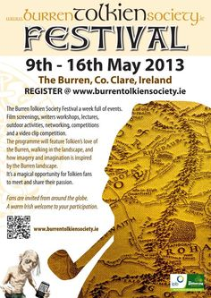 The inaugural Burren Tolkien Society Festival Writer Workshop, Tolkien, The Hobbit, Irish, Lord, Gardens, Events, Activities, Rings