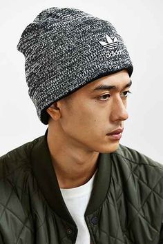 adidas Trefoil Knit Beanie - Urban Outfitters