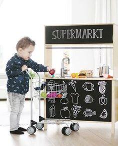 mommo design: IKEA HACKS FOR KIDS - Duktig market
