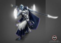 Praesidian Spirit Warrior Learn More: http://icarusminiatures.com/concept-art-preview-praesidian-spirit-warrior/