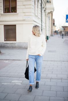 Knit and jeans