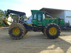 John Deere 648H Forestry Equipment for Sale :: Construction Equipment Guide