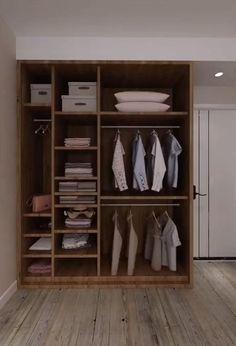 Small Room Design Bedroom, Bedroom Cupboard Designs, Bedroom Cupboards, Bedroom Closet Design, Bedroom Furniture Design, Closet Designs, Bedroom Ideas, Small Bedroom Wardrobe, Wardrobe Room