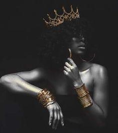 Black Love Art, Black Girl Art, My Black Is Beautiful, Black Girls Rock, Black Girl Magic, Art Girl, Natural Hair Art, Natural Hair Styles, Natural Beauty