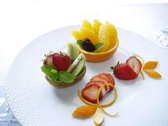 ??????? ????TsujiMichiko???????????????????????????????????????? (fruit plating ideas)