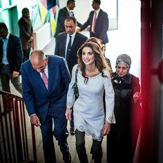 Queen Rania of Jordan 4/28/2015