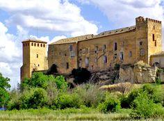 castillo-palacio de los liñan - cetina - zaragoza - españa
