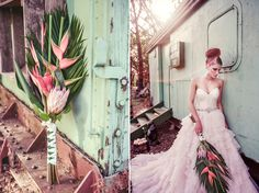 Lost In Time Wedding Inspiration Love this for bouquet! Wedding Flower Inspiration, Wedding Ideas, Chic Wedding, Dream Wedding, Bird Of Paradise Wedding, Wedding Bouquets, Wedding Flowers, When Youre In Love, Beautiful Bouquets