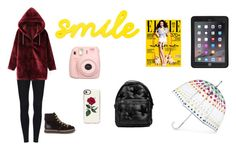 """""""Domingo"""" by milena-lister-quevedo on Polyvore featuring moda, WithChic, STELLA McCARTNEY, Totes, Fujifilm, Casetify, Griffin y See by Chloé"""