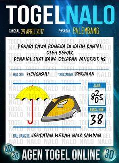 Angka Kode 6D Togel Wap Online TogelNalo Palembang 29 April 2017