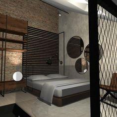 Návrh ložnice v industriálním stylu....#interiordesign#bedroom#industrial#industrialni#styl Outdoor Furniture, Outdoor Decor, Bed, Home Decor, Decoration Home, Stream Bed, Room Decor, Beds, Home Interior Design
