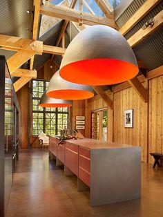 modern house home interior design Warehouse Living, Warehouse Design, Interior Exterior, Home Interior Design, Interior Architecture, Conception D'entrepôts, Barn Renovation, Industrial House, Modern Kitchen Design