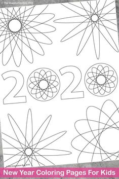 New Year 2020 Printable Art Activities For Kids Goal Setting Activities, New Years Activities, Art Activities For Kids, Art For Kids, Fireworks Art, New Year Fireworks, Back To School Art, New Year Art, Warm And Cool Colors