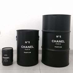 Chanel Oil Barrel Various Sizes