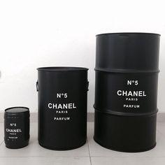 Chanel Oil Barrel Various Sizes