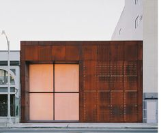 Patricia Greiy features HD images of Amazing Exterior Metal Wall Panels Exterior Metal Wall Panels Although This Is An Exterior on Wisatakuliner. Metal Cladding, Metal Facade, Metal Siding, Metal Wall Panel, Metal Panels, Perforated Metal Panel, Exterior Wall Panels, Stainless Steel Panels, Glass Building