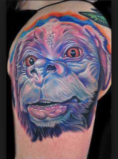 Falcor tattoo