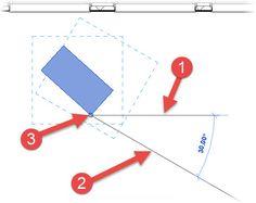 Autodesk Revit: Rotating Elements - http://bimscape.com/autodesk-revit-rotating-elements/