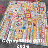 Gypsy Wife QAL quilt pattern Jen Kingwell