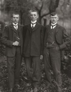 Country Lads from the Westerwald, Germany.1912
