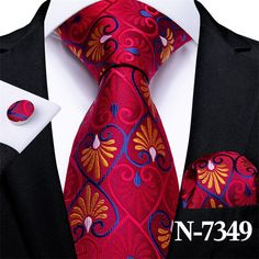 Blue Gold, Red And Blue, Tie Set, Stripes Fashion, Ruby Red, Pocket Square, Fashion Accessories, Cufflinks, Man Shop