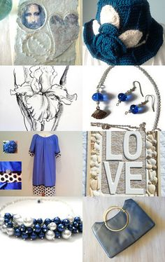 I got the blues... by amy berryman on Etsy--Pinned with TreasuryPin.com