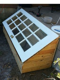 A green house made using a old door. DIY greenhouse 2019 A green house made using a old door. DIY greenhouse The post A green house made using a old door. DIY greenhouse 2019 appeared first on Flowers Decor. Diy Mini Greenhouse, Diy Greenhouse Plans, Greenhouse Gardening, Greenhouse Wedding, Cold Frame Gardening, Cheap Greenhouse, Greenhouse House, Portable Greenhouse, Homemade Greenhouse