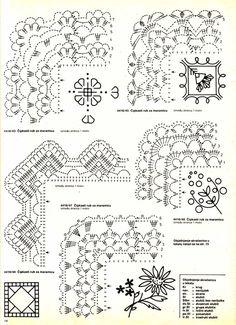 Diy Crafts - -Crochet Lace Trim Hands Ideas For 2019 crochet Crochet Boarders, Crochet Edging Patterns, Crochet Lace Edging, Crochet Diagram, Crochet Chart, Thread Crochet, Crochet Trim, Crochet Designs, Crochet Doilies