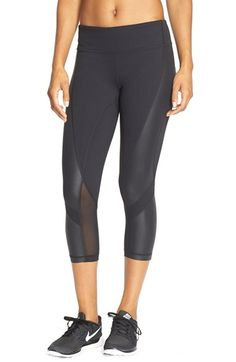 Free shipping and returns on Zella 'Live In - Athena' Mesh Inset Capris at Nordstrom.com. Panels of cooling mesh wrap around cropped, anti-chafe capris that wick moisture to keep your workout performance at its peak.