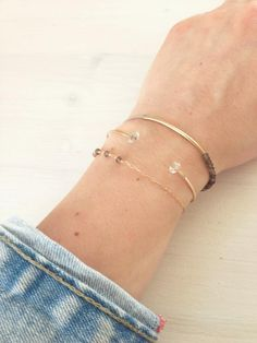 LOOK | Herkimer Diamonds are our favourites for spring www.makarojewelry.com
