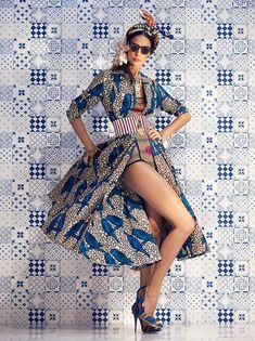 By Haitian-Italian Designer Stella Jean African Fashion Designers, African Inspired Fashion, African Print Fashion, Africa Fashion, Ethnic Fashion, Fashion Prints, Ankara Fashion, African Print Dresses, African Wear
