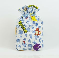 SALE: Pokemon underwear bag Christmas gift bag by MoonlightCompany