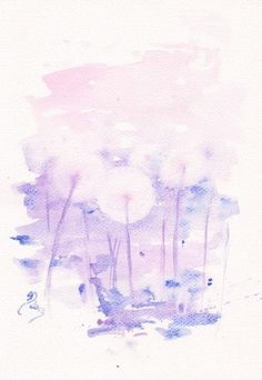Art Watercolor Painting- Floral Decor   Mai Tai Inspiration