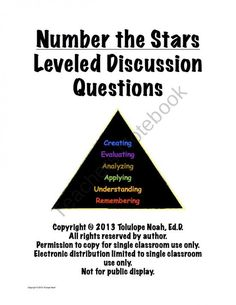 Number the Stars Level...