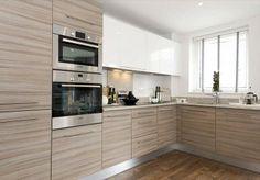 ♥ Kitchen Room Design, Modern Kitchen Design, Home Decor Kitchen, Kitchen Furniture, Interior Design Living Room, Home Kitchens, Kitchen Units, Kitchen Storage, Kitchen Cabinets