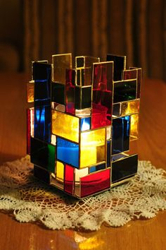 candle | Candle lamp - cubism :) by bobidoo on deviantART