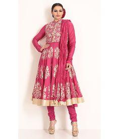 Biba By Rohit Bal Churidaar Kurta Dupatta, http://www.snapdeal.com/product/biba-by-rohit-bal-churidaar/680912253253