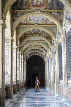 Vatican Swiss Guard, Rome