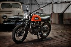 Yamaha 225 Street tracker by 66 Motorcycles - via Piston Brew