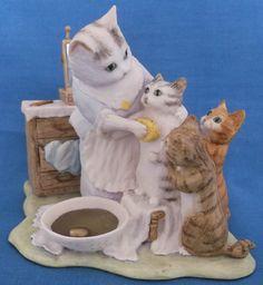 BORDER FINE ARTS SCOTLAND BEATRIX POTTER THIS ONE IS MOPPET CATS FIGURINE | eBay