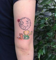 #littleprince #littleprincetattoo #foxtattoo