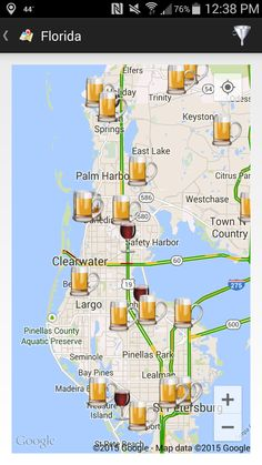 Thecompass Winery Brewery Distillery Locator App S View Of The Fred Marquis Pinellas Trail