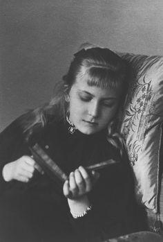 Princess Victoria Eugénie of Battenberg, 1897 [in Portraits of Royal Children Vol.43 1896-1897]   Royal Collection Trust
