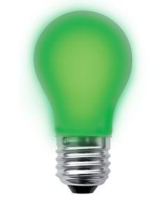 LED lamp 2W E27 filament Segula dimbaar Groen 50673 fel