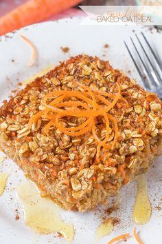 Carrot Cake Baked Oatmeal on MyRecipeMagic.com