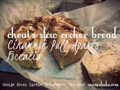 Cheat's Slow Cooker Bread and Pull-Apart recipes...